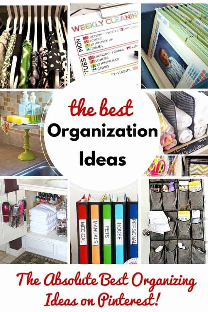 Best Organization Ideas on PInterest