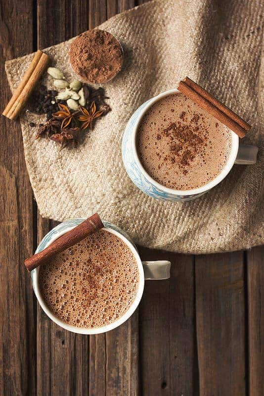Chai Hot Chocolate by Tasty Yummies