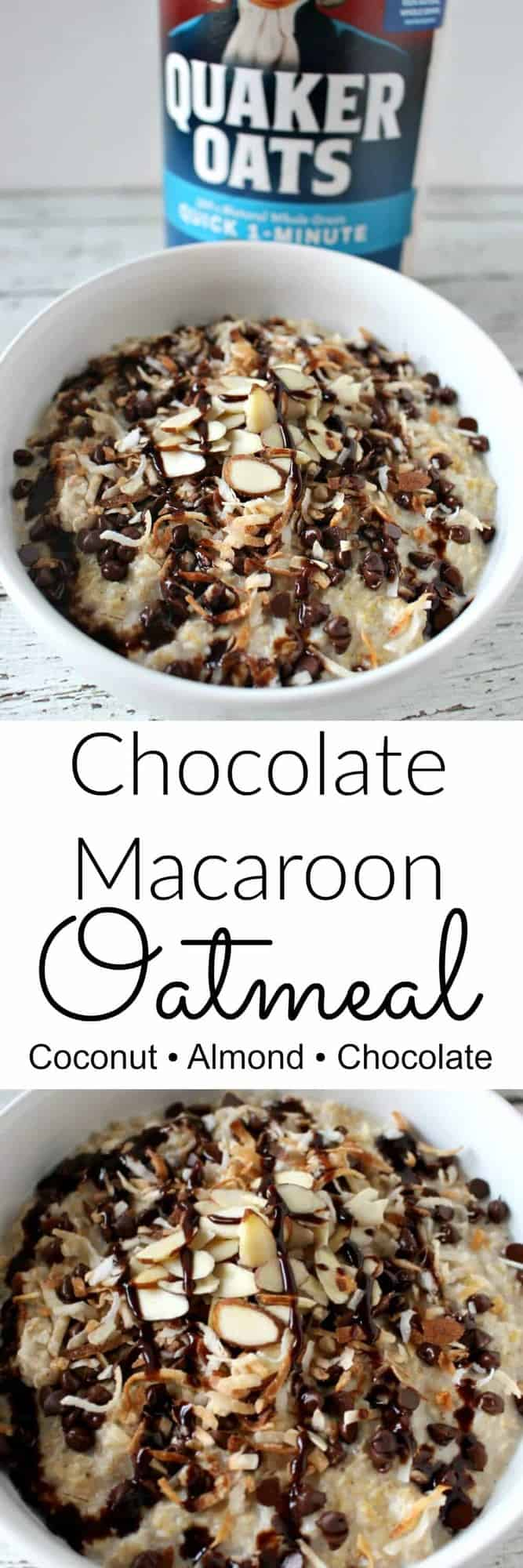 Chocolate Macaroon Oatmeal