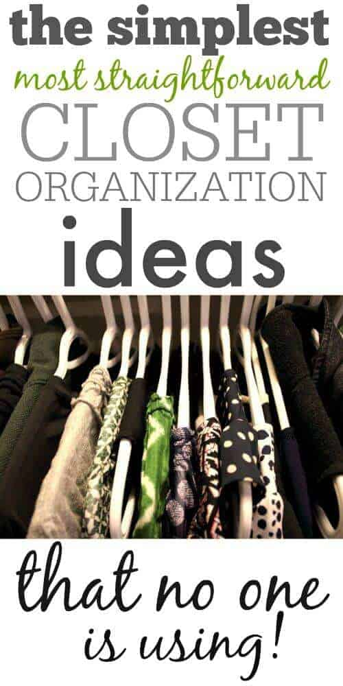 Closet Organization Ideas by The Creek Line House
