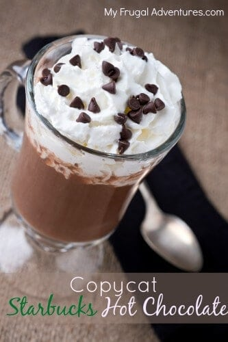 Copycat Starbucks by My Frugal Adventures