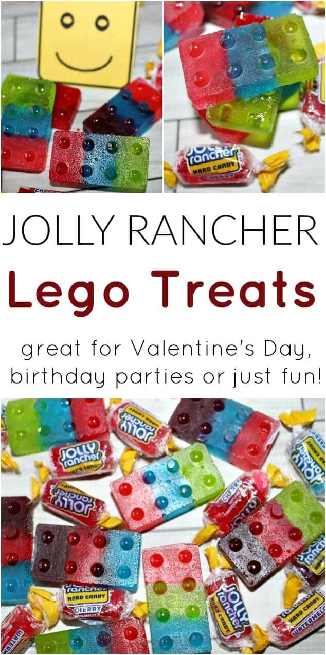 Jolly Rancher Lego Treats from Princess Pinky Girl