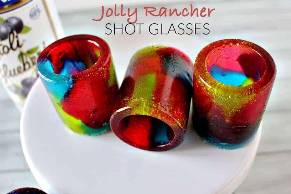 Jolly Rancher Shot Glasses horizontal