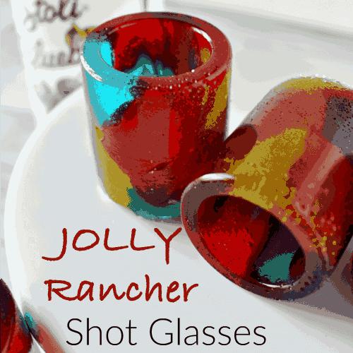 Jolly Rancher Shot Glass – an edible shot glass!