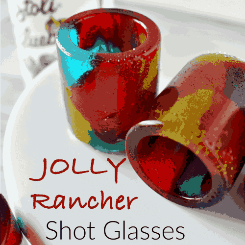 Jolly Rancher Shot Glasses