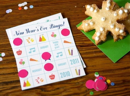 New Years Eve Bingo by HIp Hip Hooray
