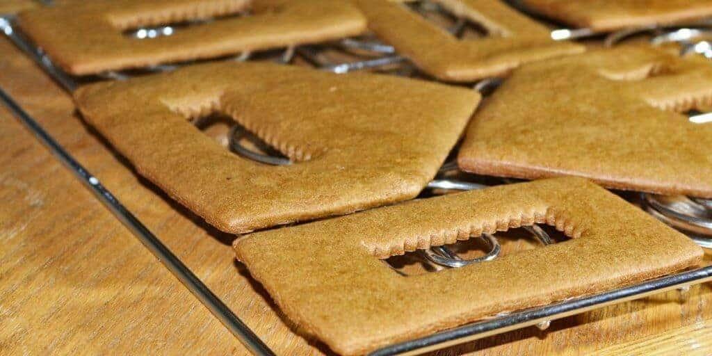 gingerbread house cookies recipe
