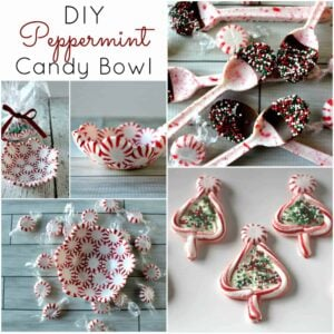 Easy DIY Peppermint Candy Crafts