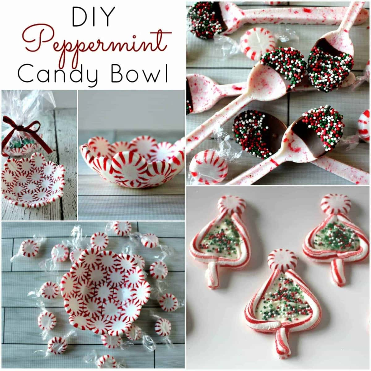 peppermint candy crafts