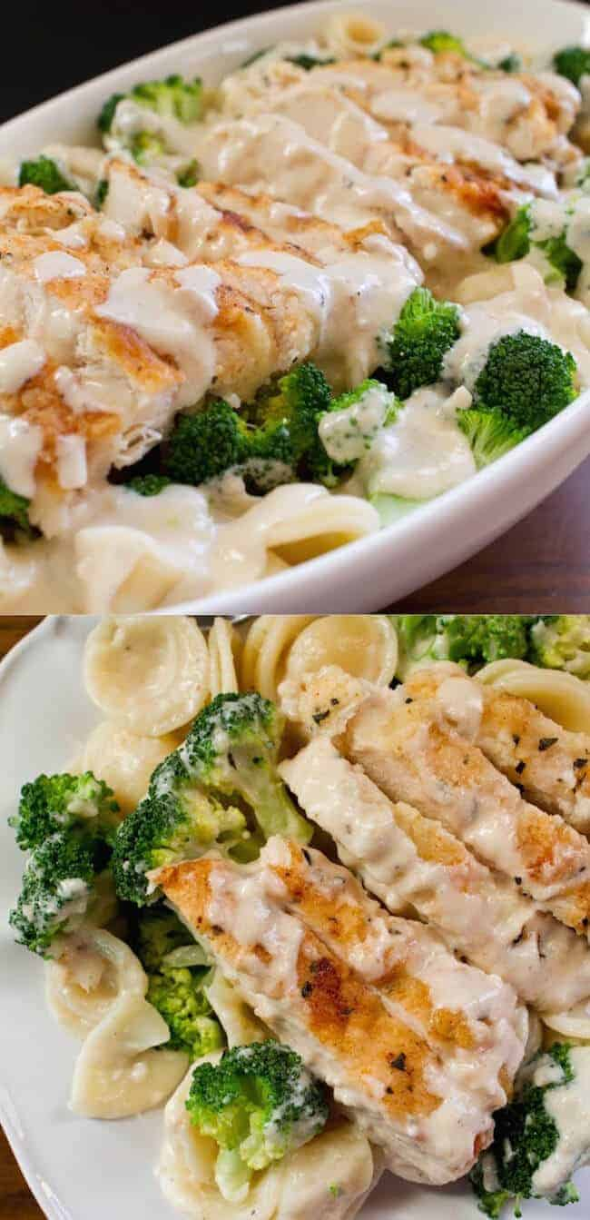 Easy Chicken and Broccoli Pasta from Smart School House