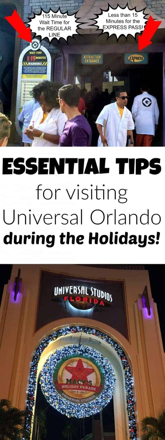 Essential tips for surviving Universal Orlando during the holidays