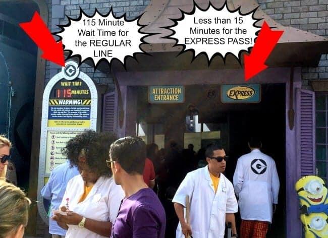 Express Pass at Universal Orlando