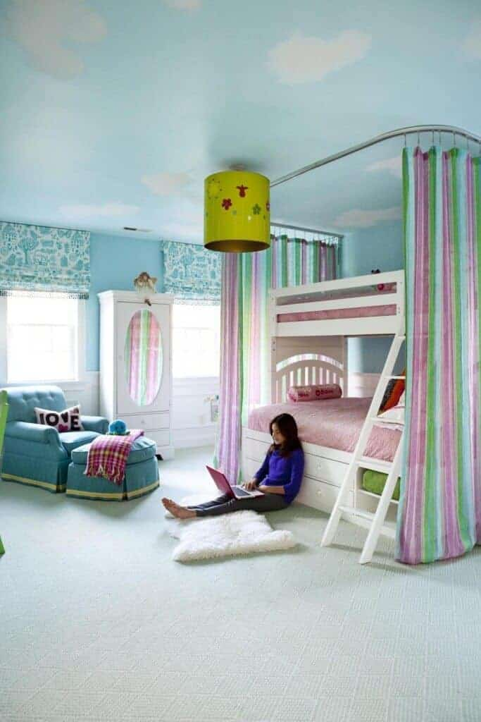 Beautiful Girls Room via Boston Globe