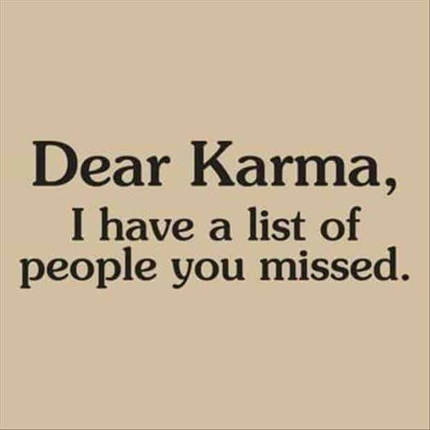 Karma quote