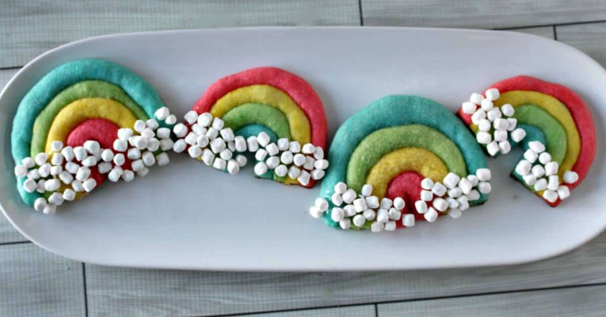 Rainbow Cookies - Princess Pinky Girl