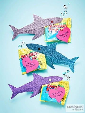 Shark Valentines by Parents Magazine