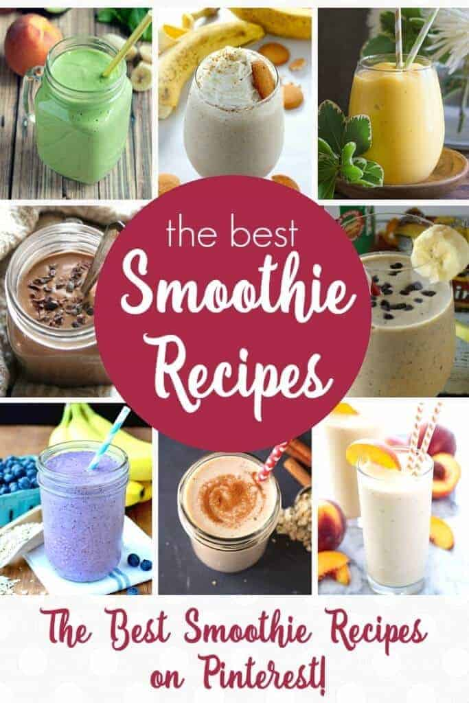 The Best Smoothie Recipes on Pinterest