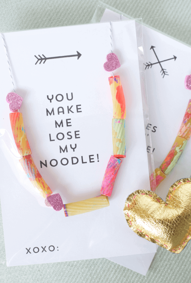 Valentine Noodle Necklace by The Alison Show