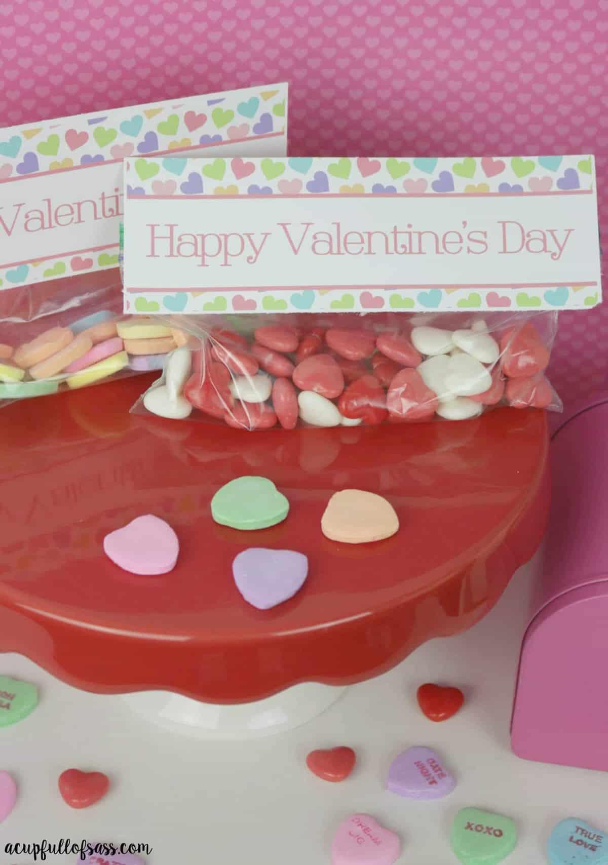valentine's day treat bag free printable