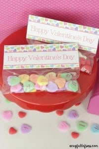 Valentine's Treat Bag Free Printable