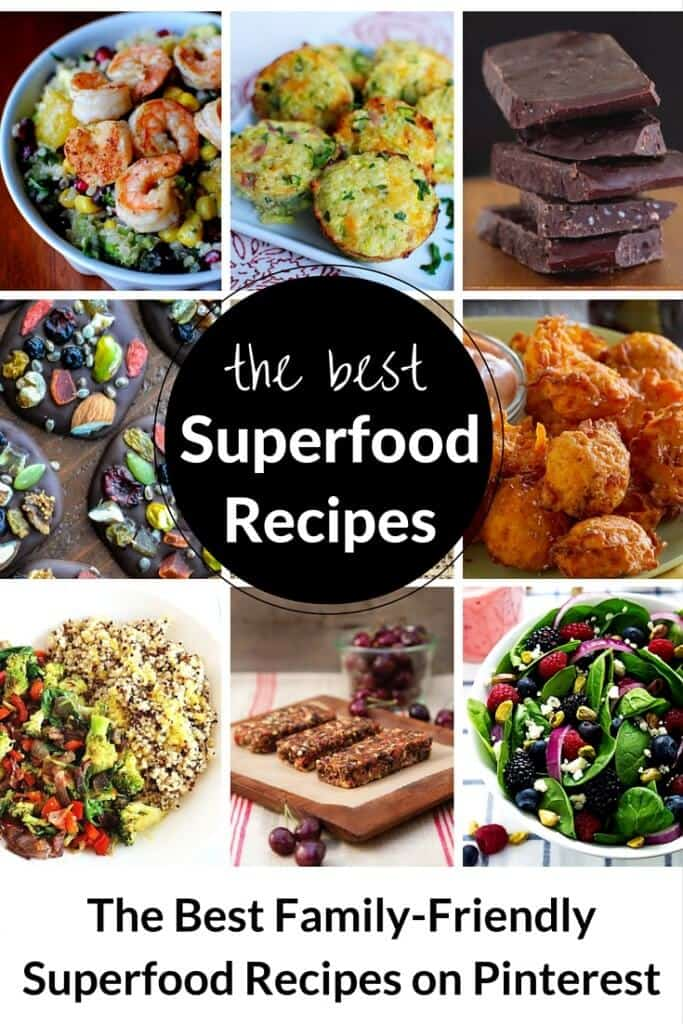 The best superfood recipes on Pinterest
