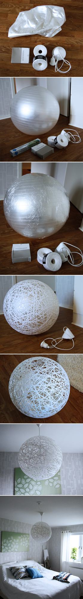 DIY Rope Lamp by Inspire Ramera