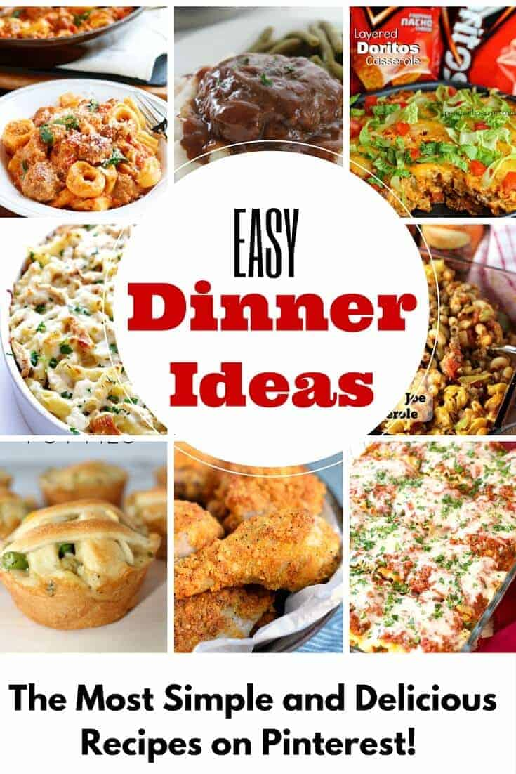 Crazy Easy Dinner Ideas