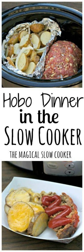 Hobo Dinner in the Slow Cooker by The Magical Slow Cooker