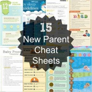 Parenting Cheat Sheets – Helpful Charts for Parents