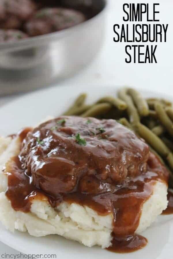 Simple Salisbury Steak by Cincy Shopper