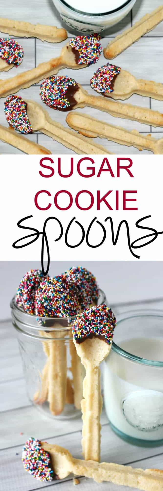 Sugar Cookie Spoons - Taking milk and cookies to a whole other level Princess Pinky Girl