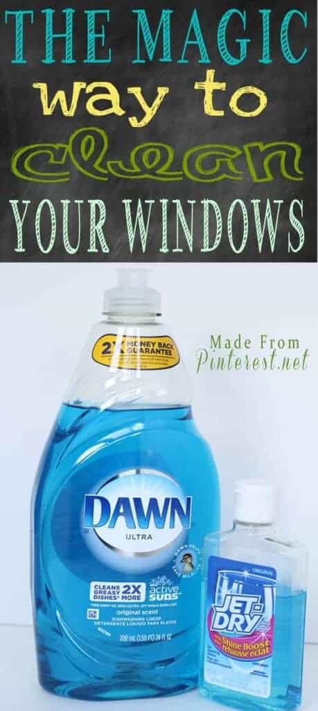 The Magic Way to Clean Your Windows by Made from Pinterest