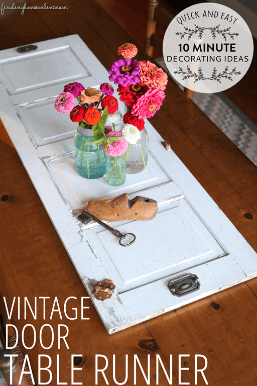 Vintage Door Table Runner by Finding Home Farms
