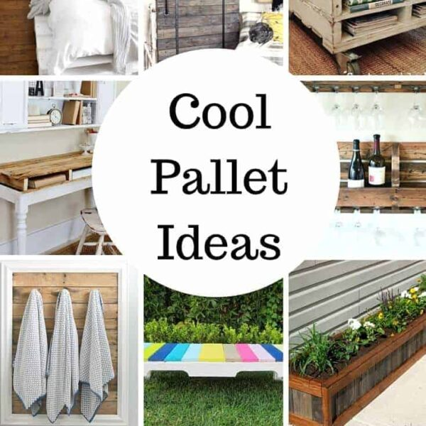 The Coolest Pallet Project Ideas on Pinterest