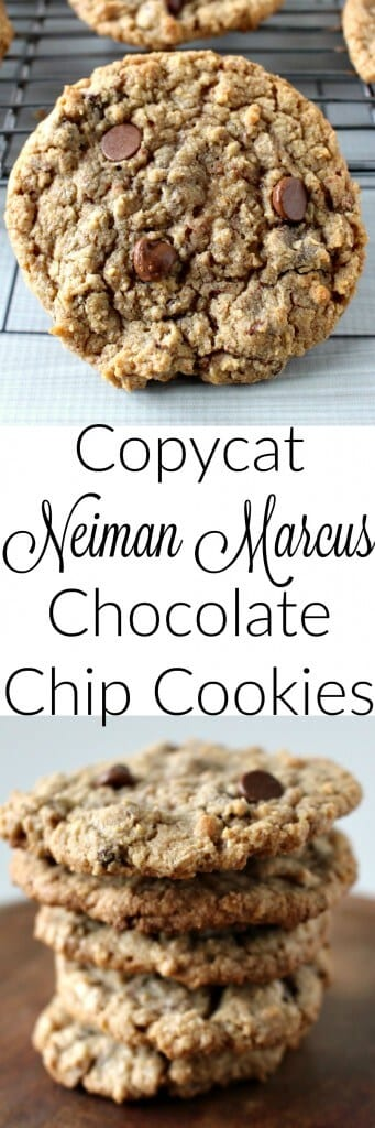 Copy Cat Neiman Marcus Chocolate Chip Cookies