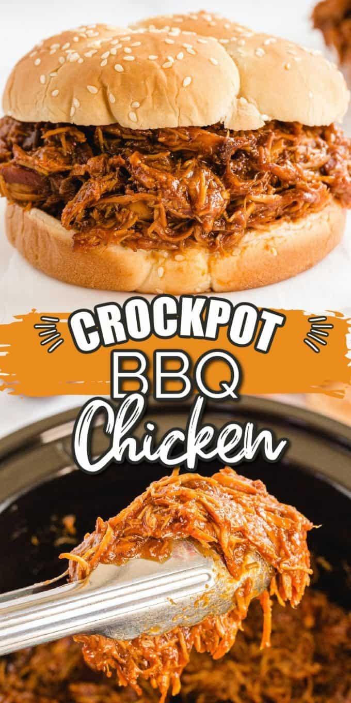 Crockpot BBQ Chicken Pinterest