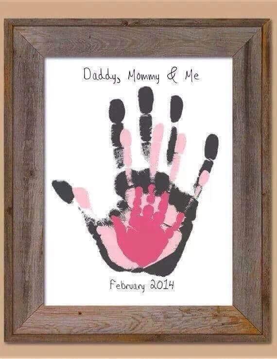 DIY Family Handprints by DIY Fun Ideas