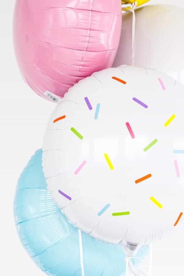 DIY Sprinkles Balloon Stickers by Studio DIY