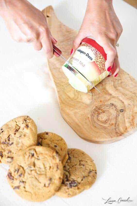 Easy Ice Cream Sandwiches by Lauren Conrad