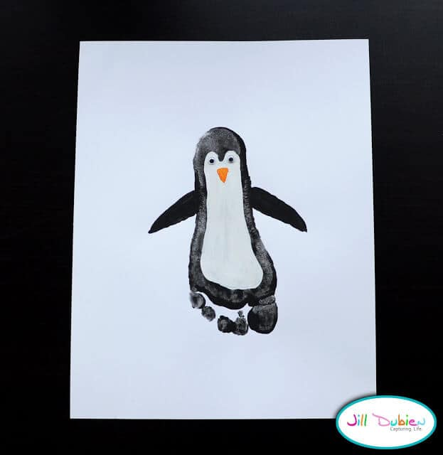 Footprint Penguins by Meet the Dubiens