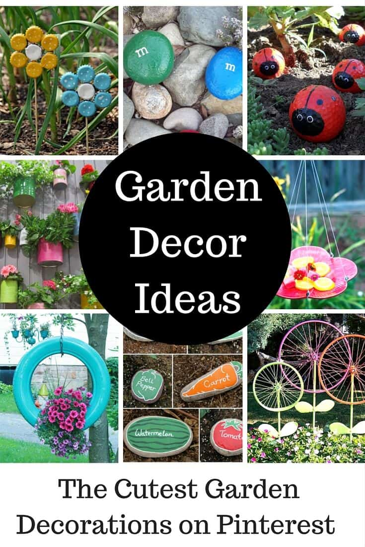 Cute garden ideas and garden decorations princess pinky girl for Fun vegetable garden ideas