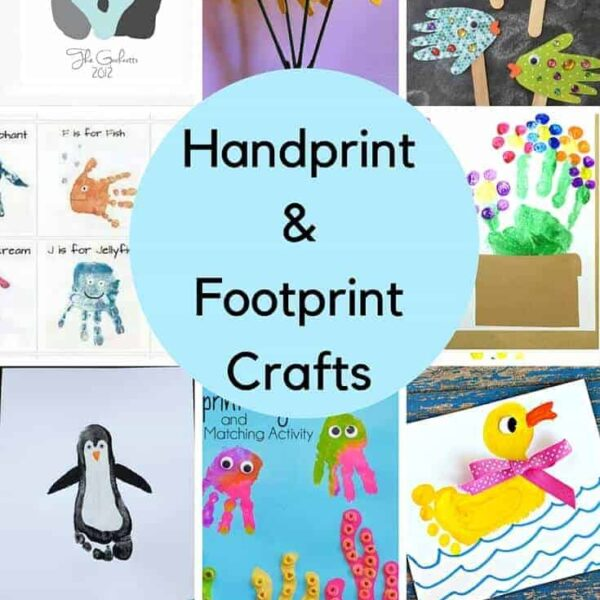 Handprint and Footprint Craft Ideas