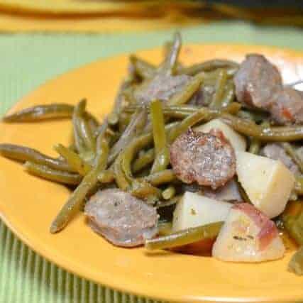 Slow Cooker Italian Sausage