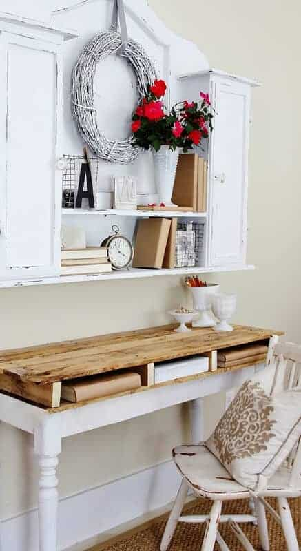 Pallet Top Desk by Thistlewood Farms
