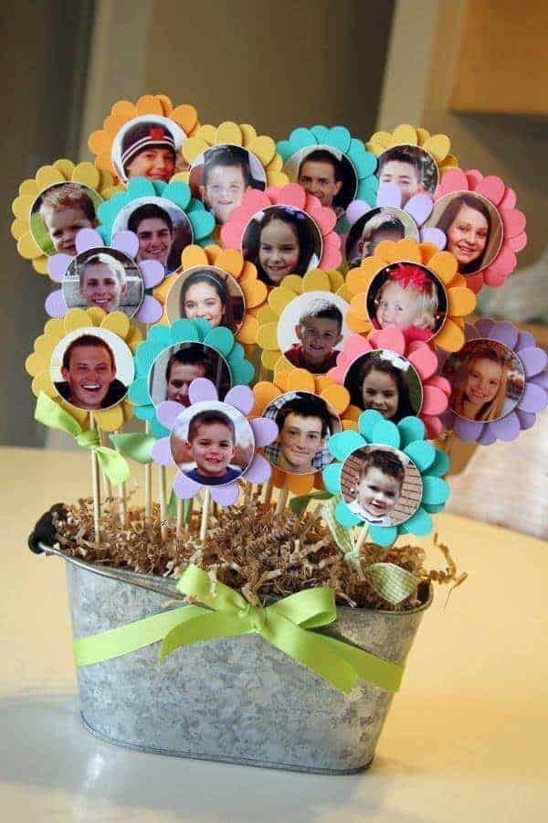 Photo Flower Pot from Mandy Douglass