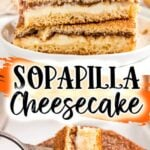 Sopapilla Cheesecake pinterest