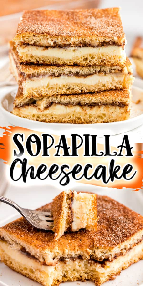 Sopapilla Cheesecake pinterest