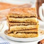 Sopapilla Cheesecake square image