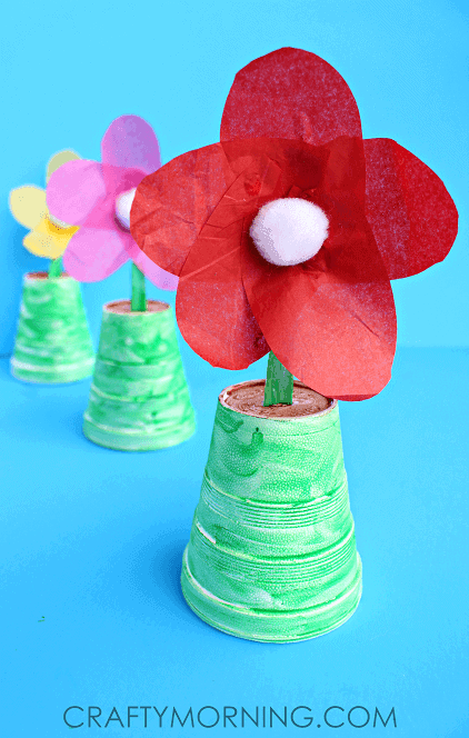 Spoon Flowers Mother's Day GIft Idea by Crafty Morning