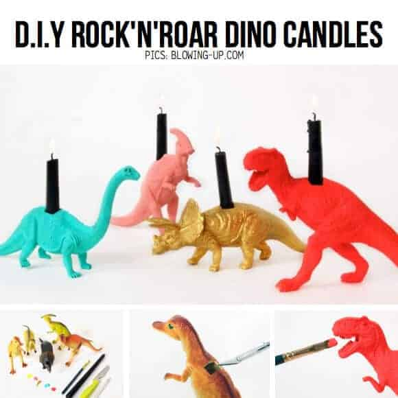 Toy Candles by Scrap Hacker